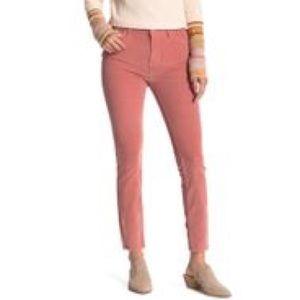 Free People Modern Mauve Corduroy Pants